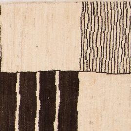 Berber Marockansk matta block mönstrad