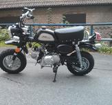 Replika Monkeybike 50cc svart