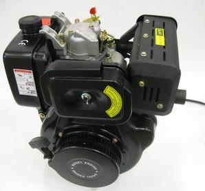 10hk Diesel Fyrtaktsmotor Elstart