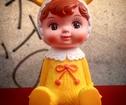 Woodland Doll Retro docka Sparbössa