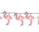 Ljuslinga Rosa Flamingo Batteri