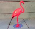 Flamingo rosa nodding head Retro 12cm