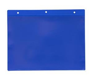 Magnetficka 235x170+15 mm i 0,30 hård blå + 0,16 glaskl.