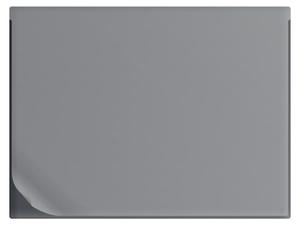 Skrivunderlägg A1 i 1,0mm svart PP med non-slip undersida samt heltäckande klaff