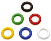 [Utgående] Fingerhål blå - passande arkivbox, tidskriftssamlare eller stansade pärmar med fingerhål
