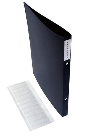 [Utgående] Självhäftande ryggetikett 20x70mm glasklar pvc passande pärm 70145020 50st pappersetiketter 18x61mm