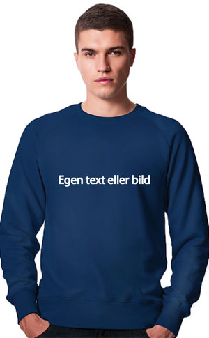 Vuxen Sweatshirt med Ditt eget tryck