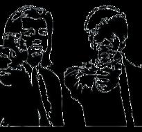 Väggdekor -Pulp Fiction 81 x 56 cm, svart dekor