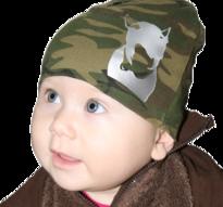 Rock the dog Cool Camomössa till baby -Grön