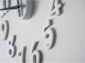 Klocka med EVA plast dekor -Design Deco