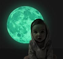 Fluorecerande Måne
