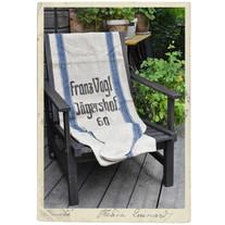 """Antique linen flour sack, as new, """"Franz Vogl"""""""