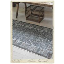 Cotton carpet with pattern 160 x 80 cm