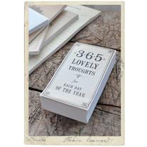 365 lovely thoughts, ett orspråk för alla årets dagar