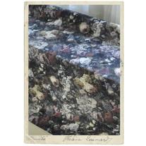 Metervara, stadigt möbeltyg m blomtryck, 150 cm brett