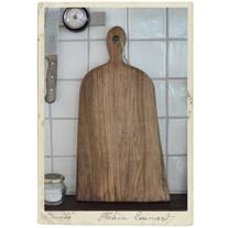 Large handmade cutting board, walnut, nr 2