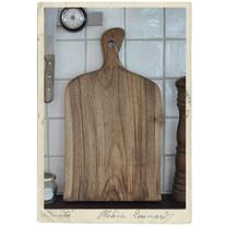 Large handmade cutting board, walnut, nr 4
