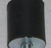Gummiupphängning höjd 25mm