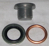 Oljeplugg m. packning M16x1,5