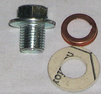 Oljeplugg m. packning M12x1,25
