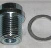 Oljeplugg m. packning M18x1,5