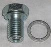 Oljeplugg m. packning M12x1,5