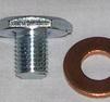 Oljeplugg m. packning M10x1,25