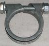 Avgasklamma 38-35mm