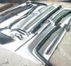 Stötfångarsats MB W107 kaross rostfritt stål