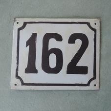 Vanha emalikyltti numero 162