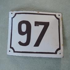 Vanha emalikyltti numero 97
