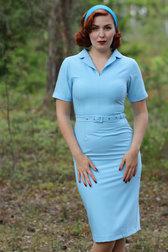 Daisy Dapper Collection Mina dress Light Blue