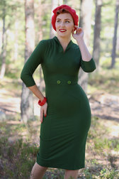 Daisy Dapper Collection Annie dress Green