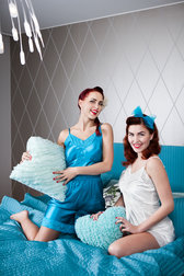 Daisy Dapper Collection Lola Sleepwear Turquoise