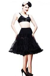 Bunny Dolly Petticoat Black