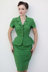Daisy Dapper Collection Miranda Top Green
