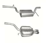 Volkswagen Passat  2.0 FSI Avgassystem (bakre och mellanljuddämpare) Sedan, Variant, 110 kW (-/2005 -11/2010)