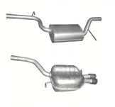 Volkswagen Passat  2.0 TFSI Avgassystem (bakre och mellanljuddämpare) Sedan, Variant, 147 kW (08/2005 -11/2010)