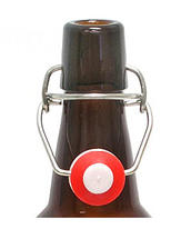 Bygelflaska 1 liter inkl. patentkork.