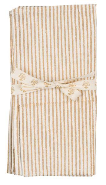 Chamois-paisley-gold-duk ,170x270 cm
