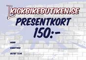 Presentkort 150 Kronor