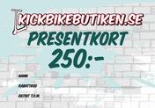 Presentkort 250 Kronor