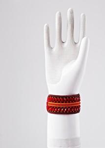 Armband röd