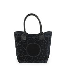 Väska broderad svart liten