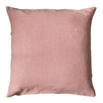 Kuddfodral linne 50x50 rosa