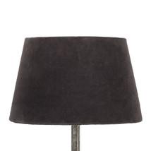 Lampskärm sammet brun mellan