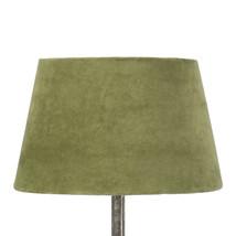 Lampskärm sammet grön mellan