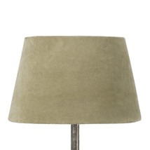 Lampskärm sammet oliv mellan