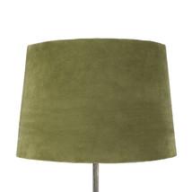 Lampskärm sammet grön stor