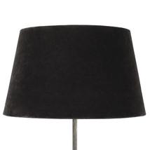 Lampskärm sammet brun XL